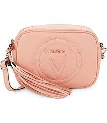 mia tassel leather crossbody bag