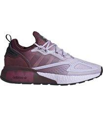 zapatilla violeta adidas zx 2k boost