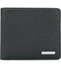boss classic billfold wallet - black