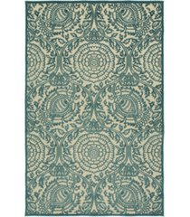 "kaleen a breath of fresh air fsr102-17 blue 7'10"" x 10'8"" area rug"