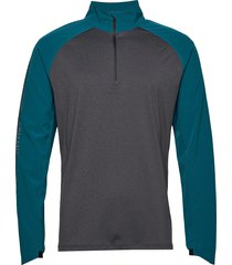 ghst 1/4 zip pullover-m t-shirts long-sleeved multi/patroon 2xu