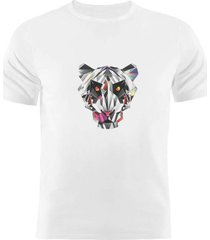 camiseta manga curta nerderia pantera  branco - branco - masculino - dafiti