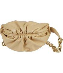 bottega veneta magnetic top chain shoulder bag