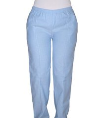 pantalón medico santangel tipo sudadera / dd163 - azul claro