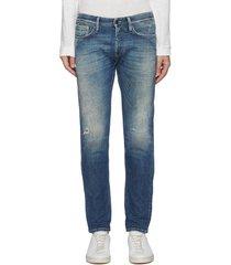 'razor' 7 years selvedge denim slim jeans