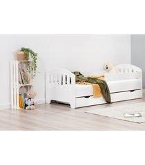 łóżko sweet armadillo z szufladą kolor biały