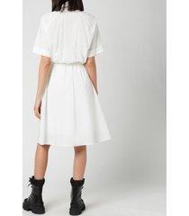 kenzo women's shirting dress - white - eu 38/uk 8
