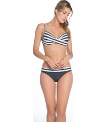 bomain ladies wire bikini stripe 23018-300
