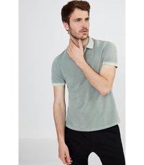 t-shirt polo piquet