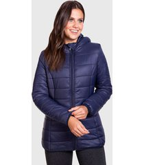 parka everlast final azul - calce regular