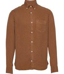 levon shirt 5969 overhemd casual bruin nn07