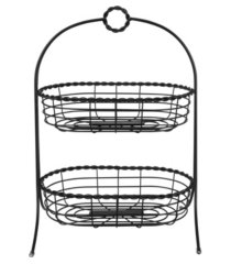 spectrum everly 2-tier oval server