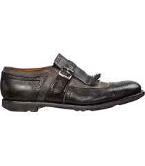 scarpe classiche uomo in pelle brogue shangai