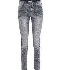summum 4s1511-10520 820 women broek snake denim silvergrey