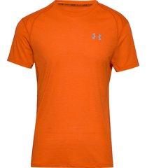 ua streaker 2.0 shortsleeve t-shirts short-sleeved orange under armour
