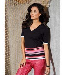 trui amy vermont zwart::offwhite::pink