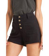 women's billabong leave rad shorts, size 31 - black