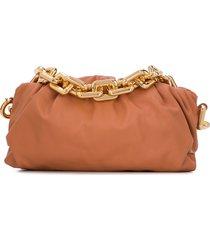 bottega veneta the chain pouch shoulder bag - orange