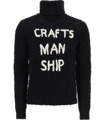 dolce & gabbana turtleneck sweater craftsmanship embroidery