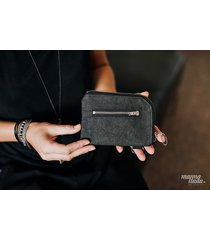 marmollada - portfel z papieru czarny