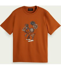 scotch & soda relaxed-fit graphic t-shirt