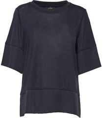 alicia jersey top t-shirts & tops short-sleeved blå morris lady
