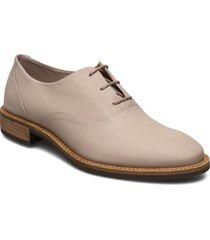 sartorelle 25 tailored snörade skor låga grå ecco