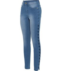 jeans med cut-outs