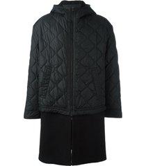 neil barrett casaco matelassê - preto