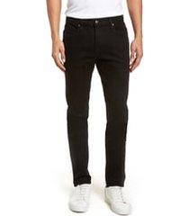 men's frame l'homme skinny fit jeans, size 28 - black