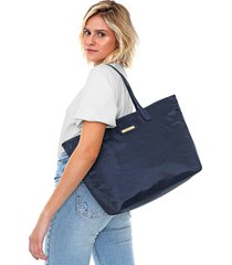 bolsa sacola santa lolla grande azul-marinho