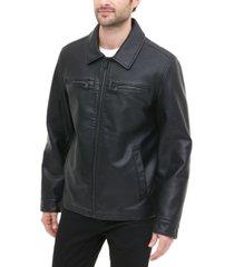 levi's men's regular-fit faux-leather jacket