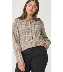 blus xchecki l/s blouse
