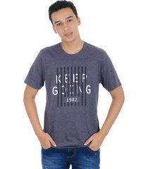 t-shirt cuello redondo gray mix s bocared goins 1812012