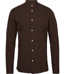 anholt overhemd casual bruin minimum
