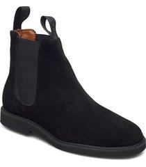 chelsea suede polaris w shoes chelsea boots svart sebago