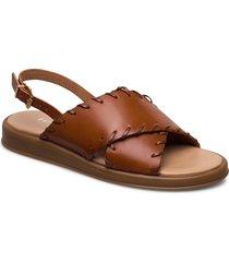 sif shoes summer shoes flat sandals brun pavement