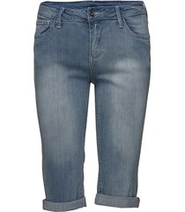 amie-sho-denim bermudashorts shorts blå free/quent