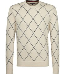 sweater blanco tommy hilfiger kion arg c-nk cf