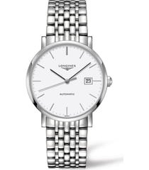 longines elegant automatic bracelet watch, 39mm