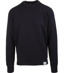 golden goose man black sweatshirt archibal dream maker collection with bandana pattern patch