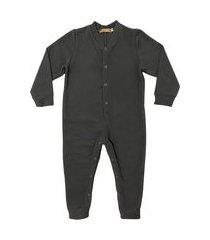 macacão pijama em soft grosso douvelin chumbo