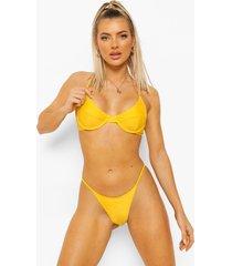 essentials bikini top met beugel, orange