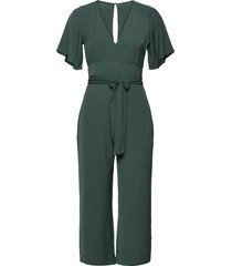anf womens dresses jumpsuit grön abercrombie & fitch