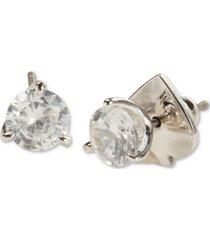 kate spade new york 3-prong crystal stud earrings