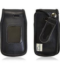 turtleback lg a380 executive black leather case phone case with ratcheting belt