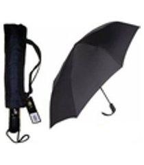 guarda chuva abre fecha automático contra vento varetas aço