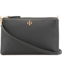 tory burch pebbled leather clutch