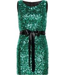 cassia embellished belt dress dresses bodycon dresses grön french connection