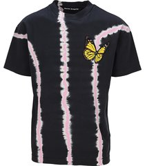 palm angels butterfly tie-dye t-shirt